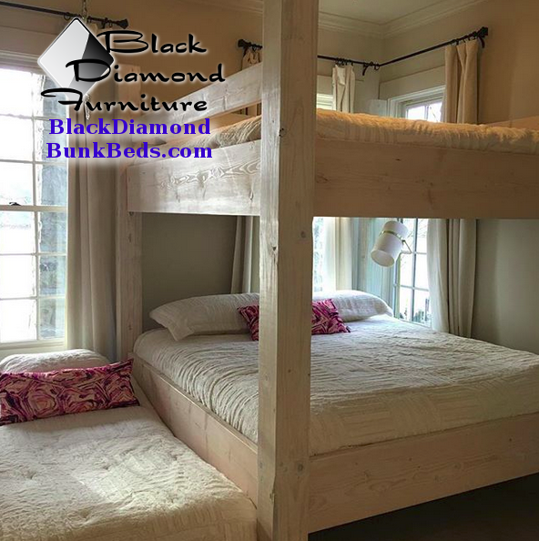 Mammoth Custom Bunk Bed Black Diamond Custom Bunk Beds