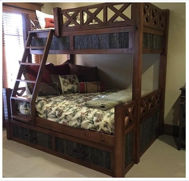 Custom Parallel Bunk Bed