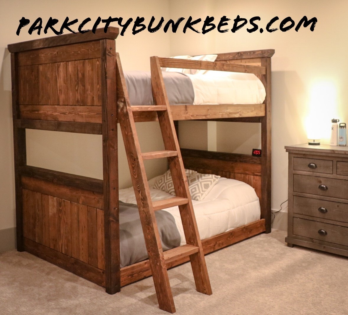 Custom bunk bed for adults