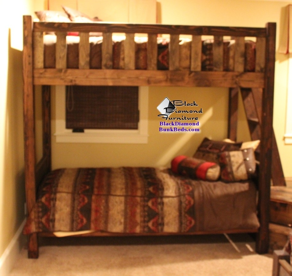 Parallel Promontory Bunk Bed for Adults