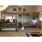 Mountain Resort Quad Bunk Bed