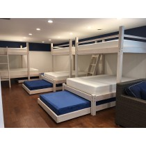 Beach House Quad Bunk Bed