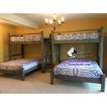 Cape Cod Perpendicular Bunk Bed