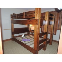 Ozark mountain bunk bed