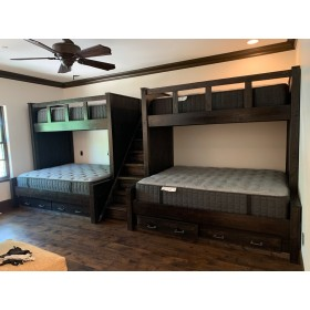 Lake House Quad Bunk Bed