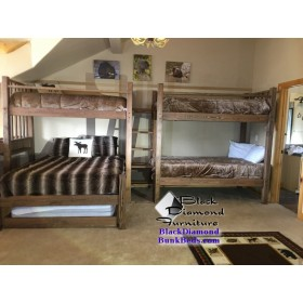 Mountain Resort Quad Bunk Bed