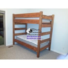 Cedar Panel Bunk Bed