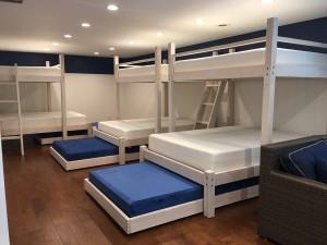 Beach House Quad Bunk Bed