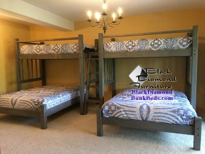Cape Cod Single Perpendicular Bunk Bed
