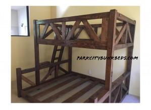 Timberbunk Parallel Bunk Bed
