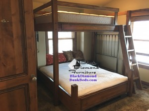 Main Street Bunk Bed -  Full over King