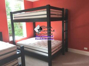 Lake Michigan Custom Full over Full Bunk Bed