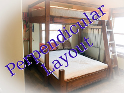 Perpendicular Bunk Bed